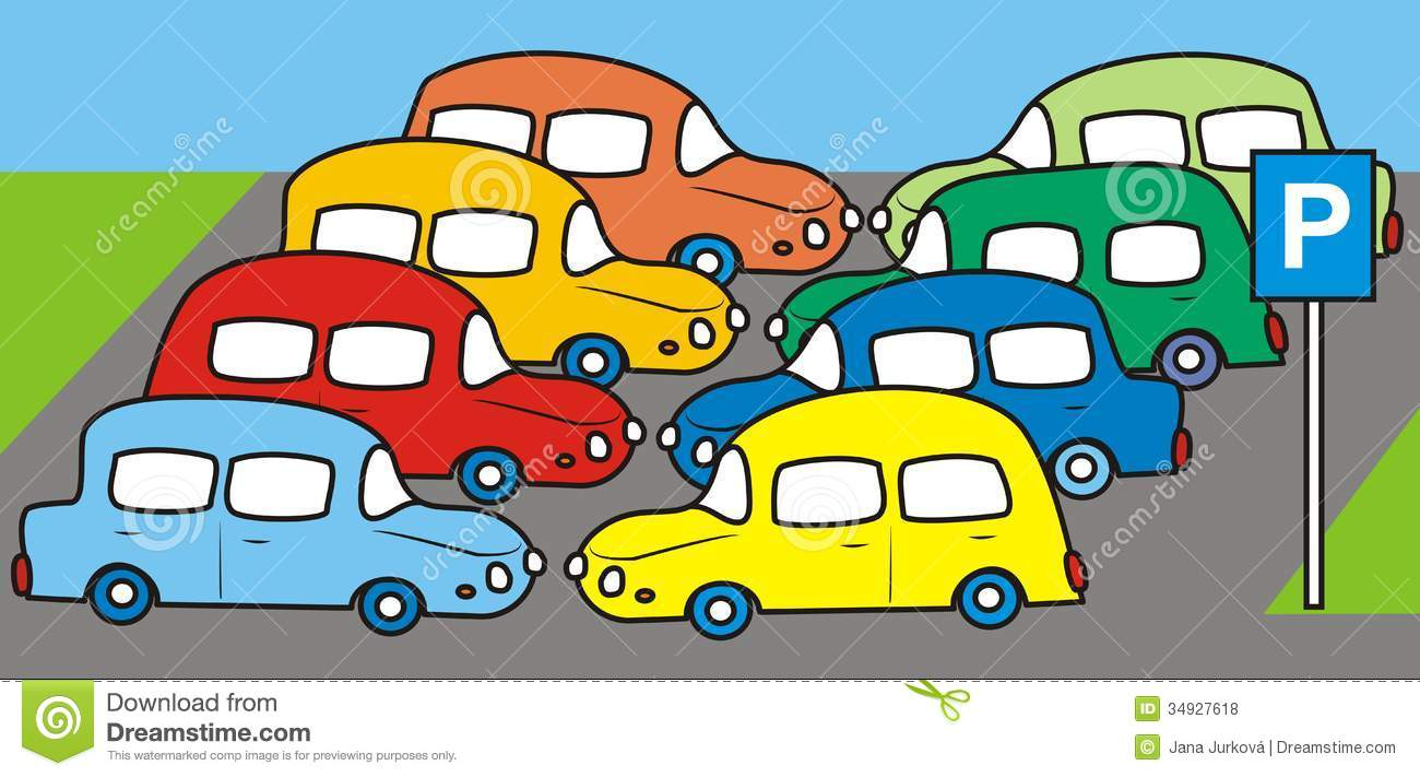 Free . Parking lot clipart