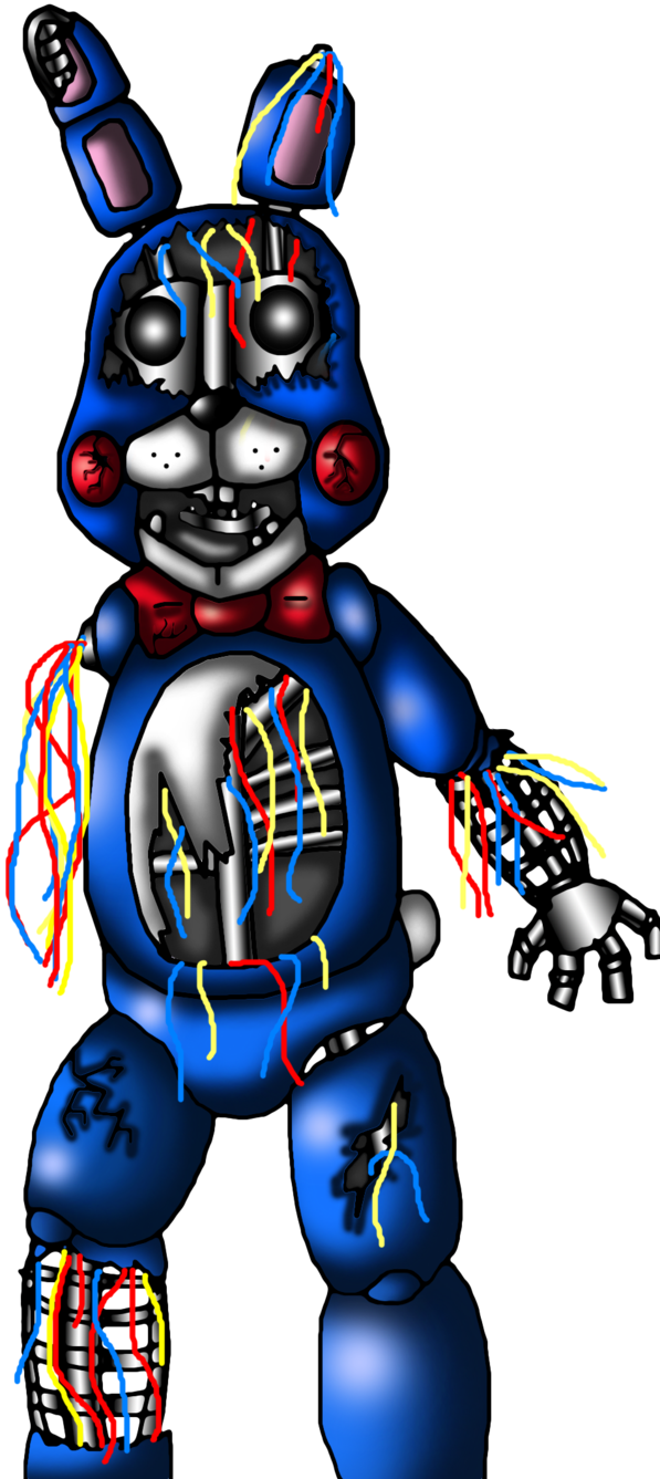 Parking lot clipart background. Withered toy bonnie no