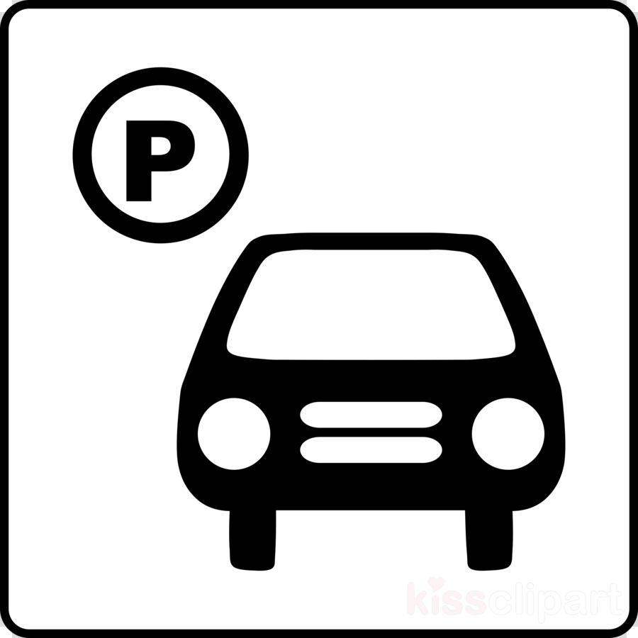 Parking lot clipart black and white. Download clip art car