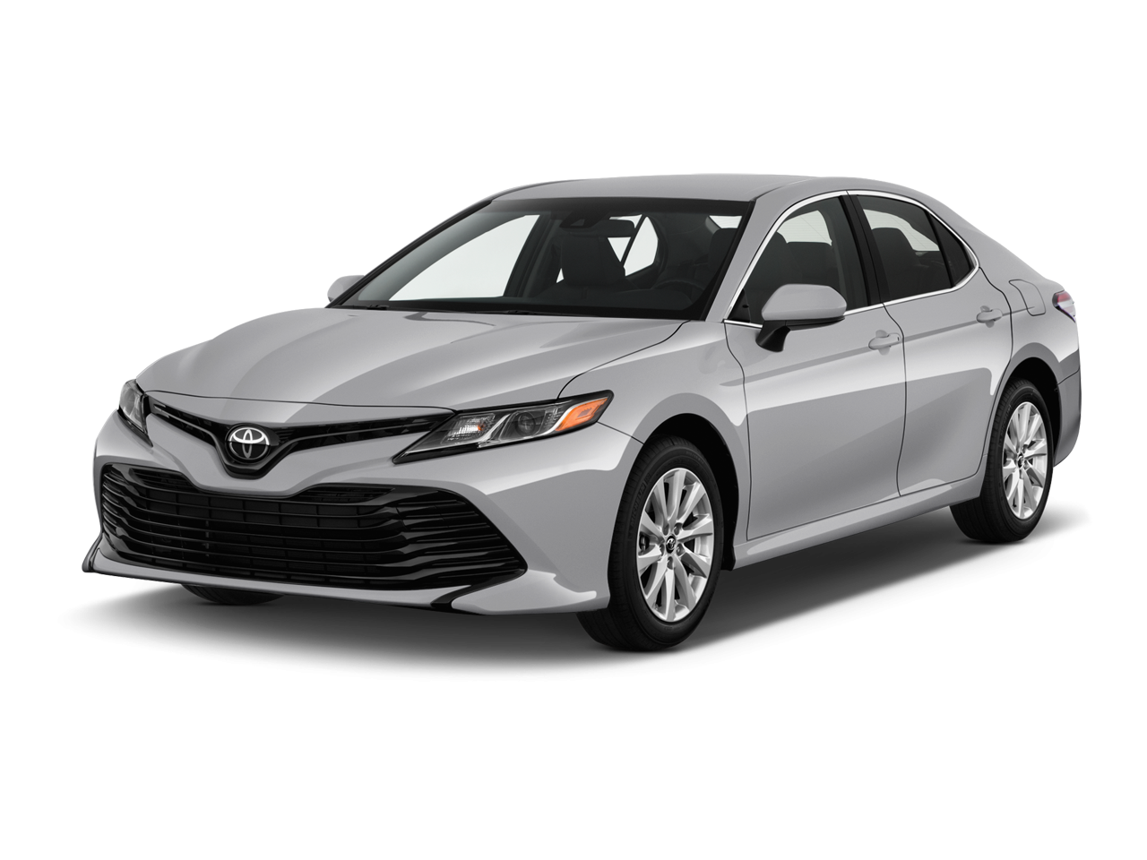 New toyota camry le. Parking lot clipart car aerial