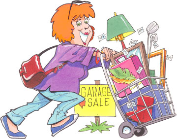 Garage sale clipartix . Parking lot clipart clip art
