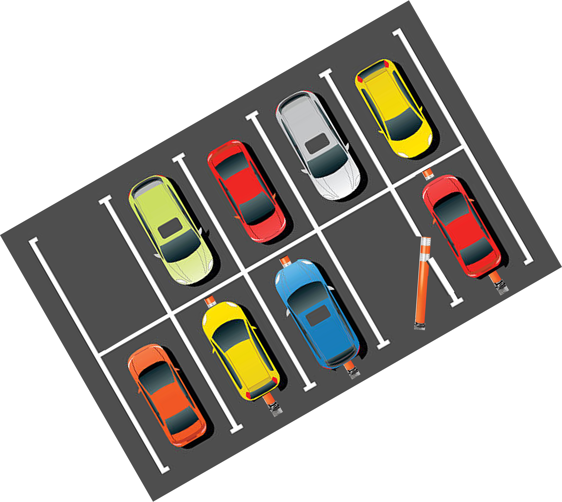 Parking lot clipart drawing. Smart made easy by