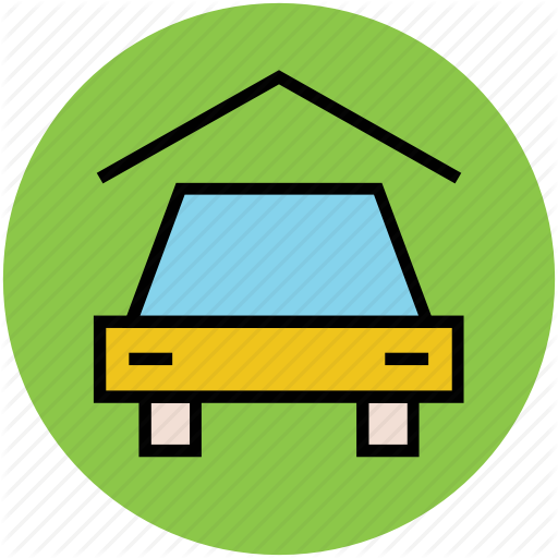 real estate circular. Parking lot clipart filled car