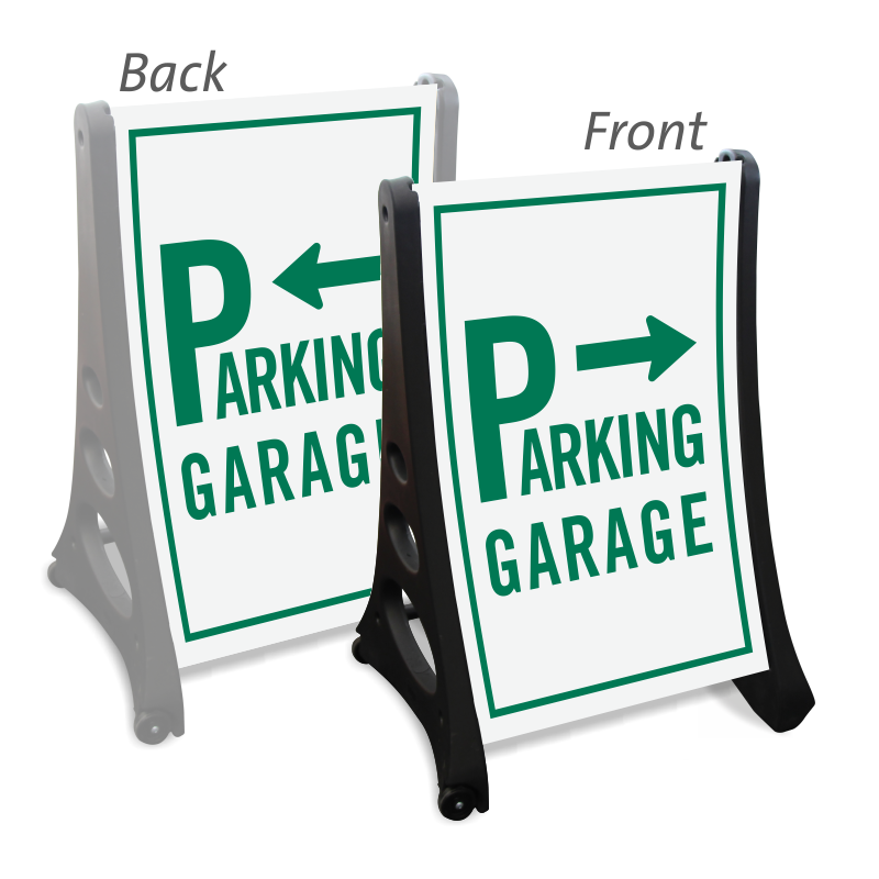 Parking lot clipart parking garage. Signs directional zoom price