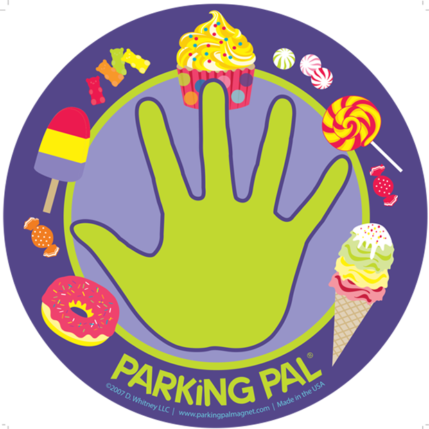 Car safety magnet for. Parking lot clipart parking place