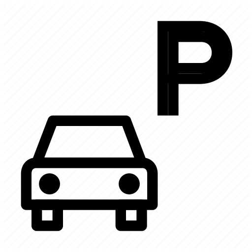 Parking lot clipart parking zone.  transport by icolabs
