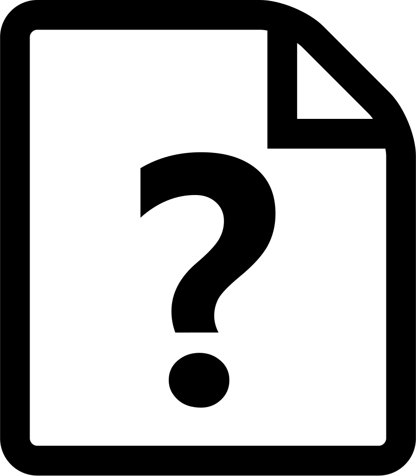 Font Question Svg Png Icon Free Download