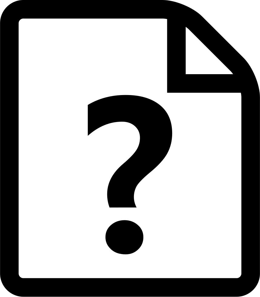 Font svg png icon. Parking lot clipart question