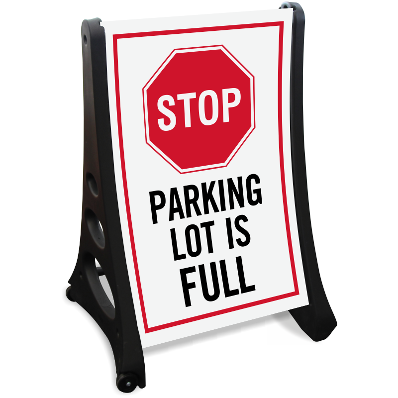 Full signs free shipping. Parking lot clipart row car