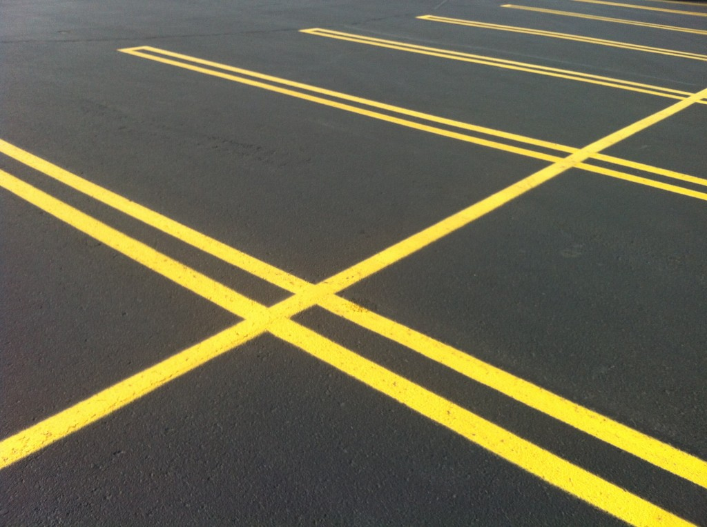 Parking lot clipart yellow. A green infrastructure
