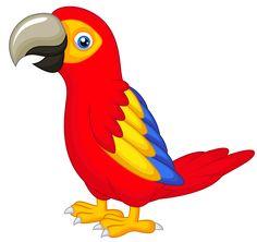 Parrot clipart. Pin by waranya nitikunnatham
