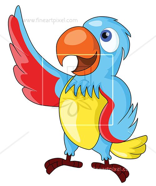 Parrot clipart beautiful parrot. Free vectors illustrations graphics
