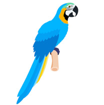 Parrot clipart blue parrot. Search results for clip