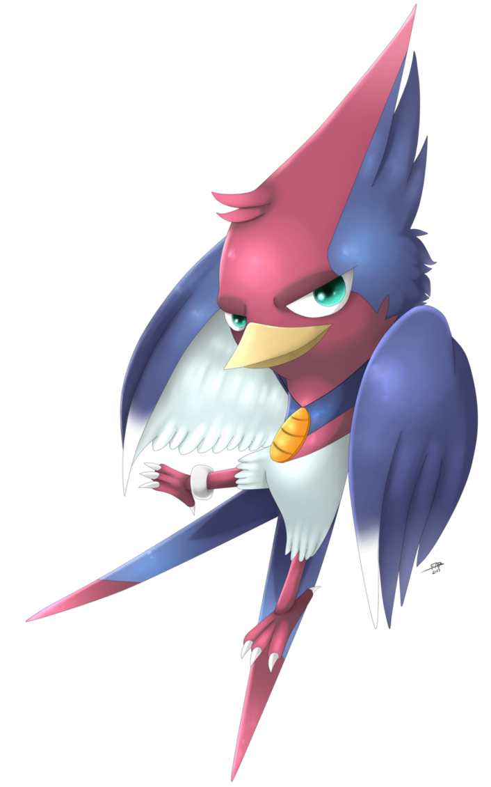 Spingan swellow by shinyhunterf. Parrot clipart chibi