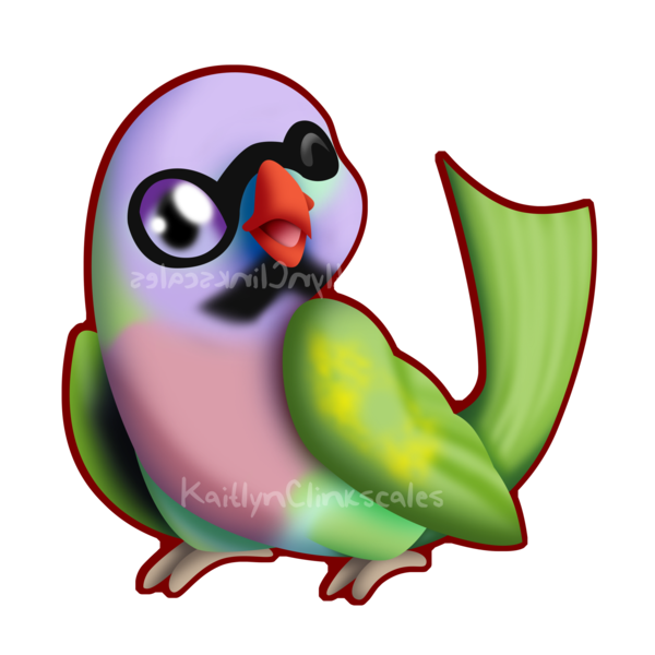 Pete the by clinkorz. Parrot clipart green indian