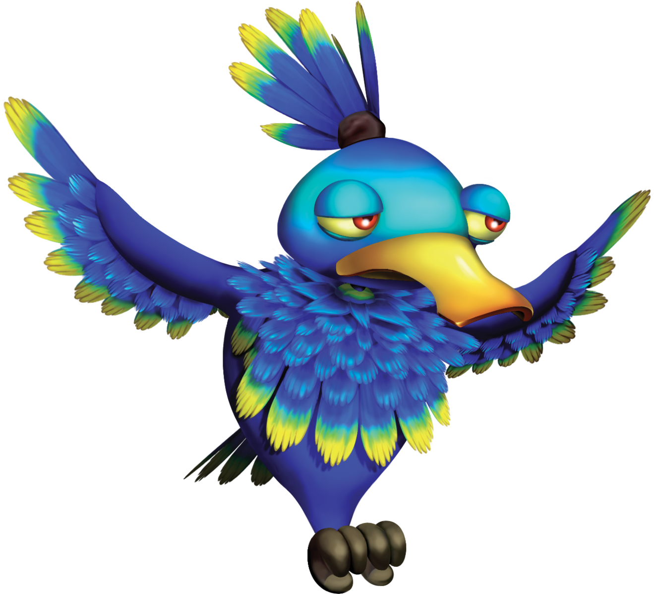 Donkey kong country tropical. Parrot clipart jungle parrot