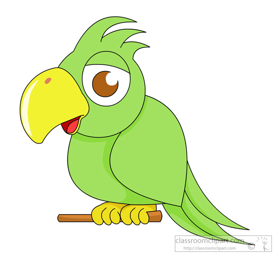 Parrot clipart little green. Free cliparts download clip