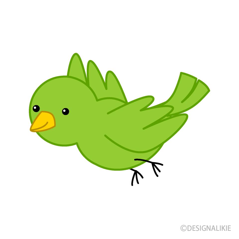 Parrot clipart little green. Bird free picture illustoon