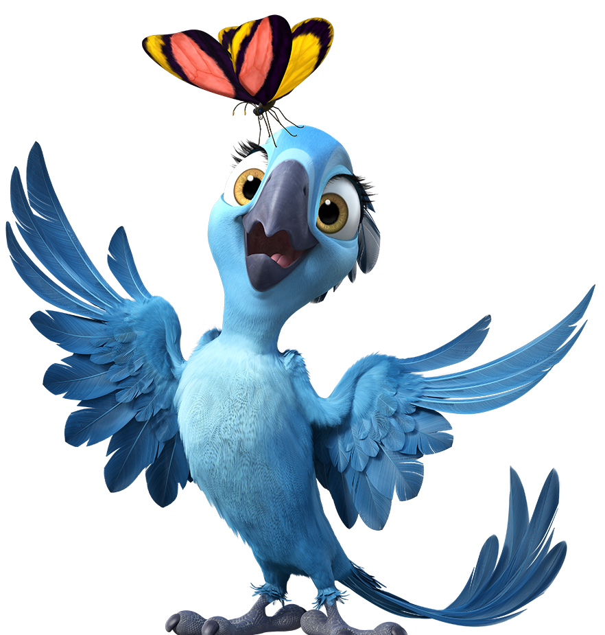 Parrot clipart mask. Rio characters tv tropes