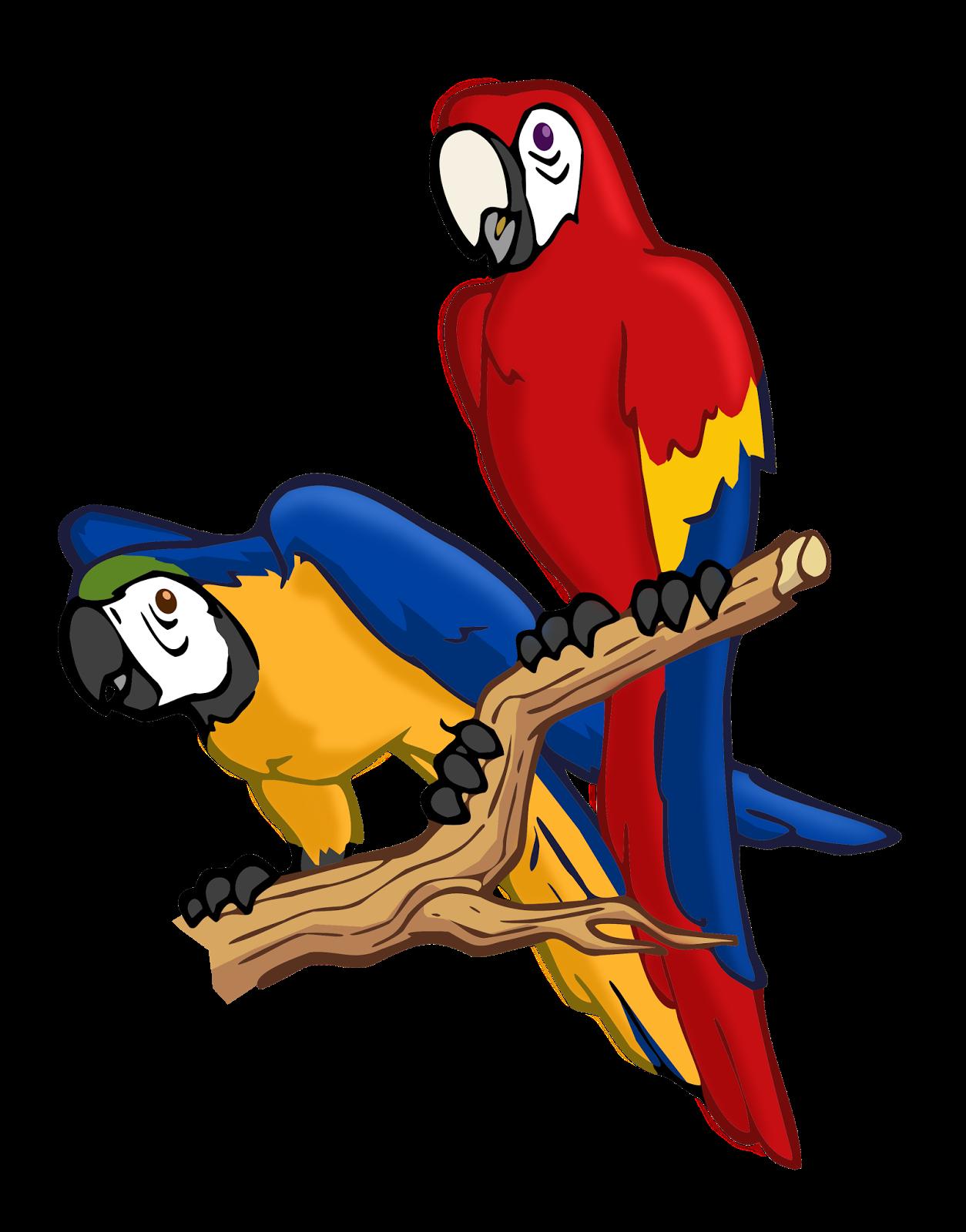 Adi percobaan burung yang. Parrot clipart nuri
