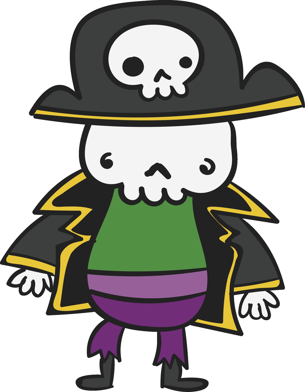 Pirate skeleton at getdrawings. Pirates clipart writing