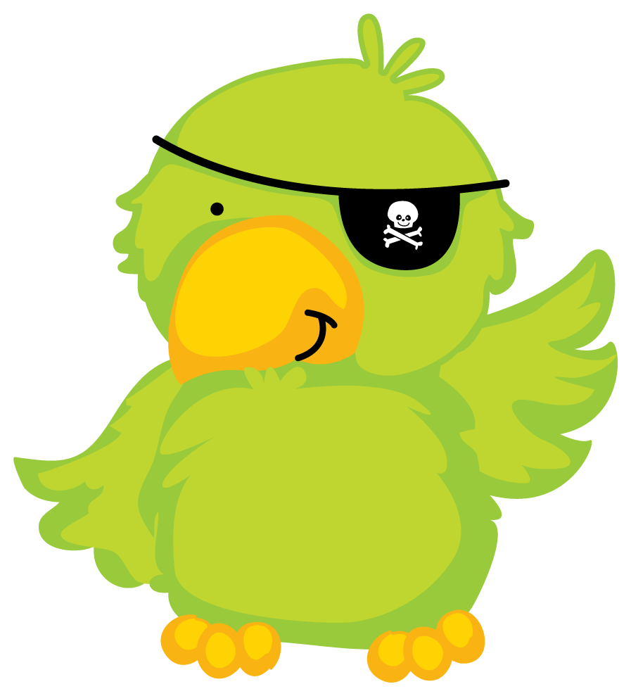 Parrot clipart pirate party. Ikfkfaw feeic png clip