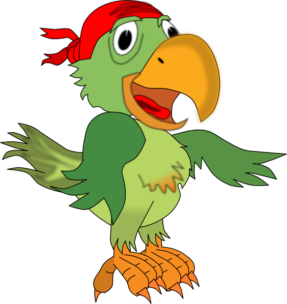 Parrot clipart pirate party, Parrot pirate party Transparent FREE ...