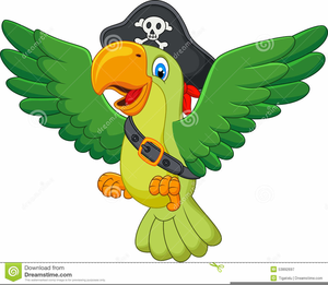 Pirate free images at. Parrot clipart public domain