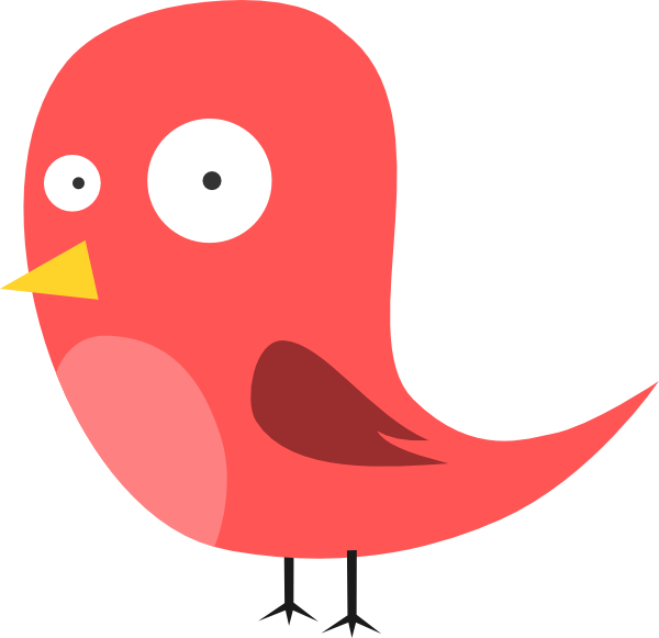 Cartoon Bird Clip Art at Clker