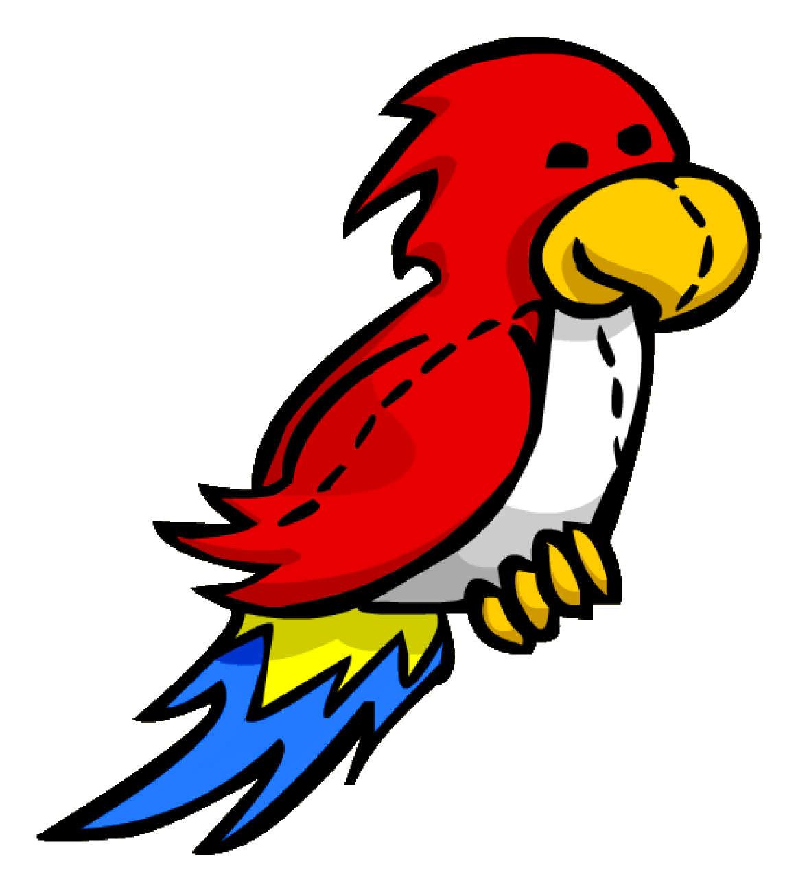 Parrot clipart shadow. Image pin icon png