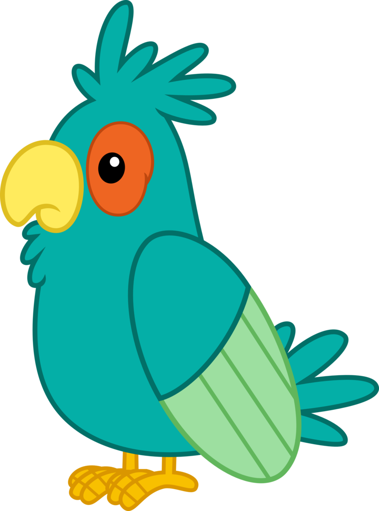 animal artist pixiepea. Parrot clipart shadow