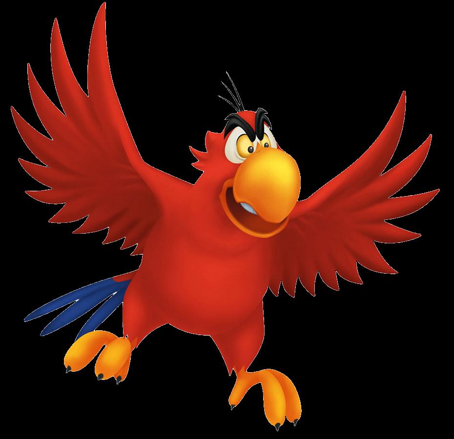 Parrot clipart shadow. Iago disney villains wiki