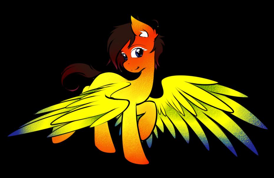 Parrot clipart sun conure.  by secret pony