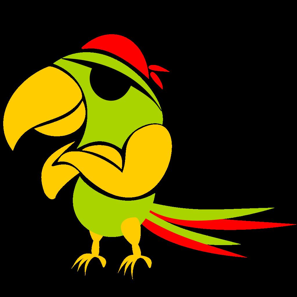 Parrot svg