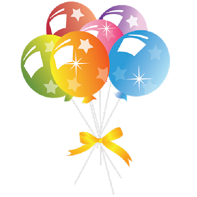 Party clipart. Balloons funny pictures cartoon