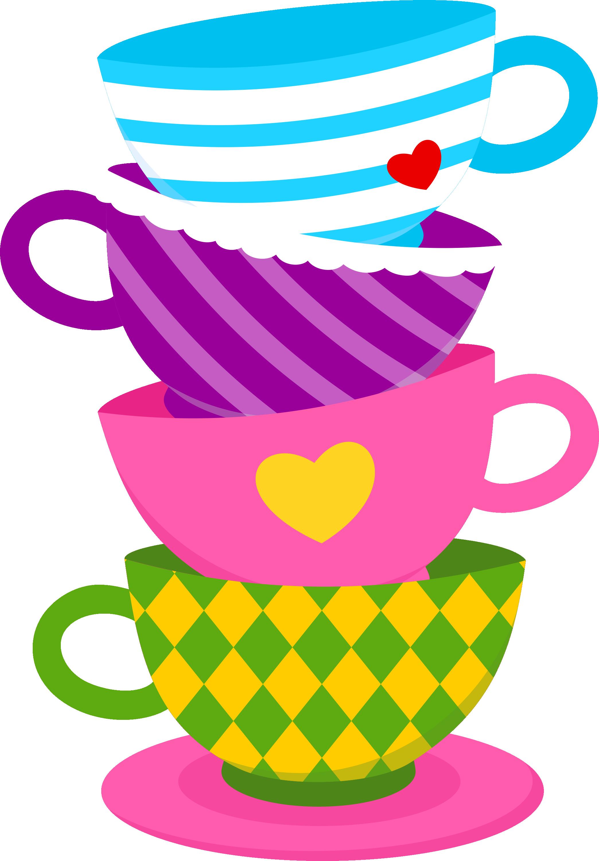 Alice in wonderland party. Tea clipart social