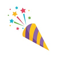 Free cliparts download clip. Streamers clipart party popper