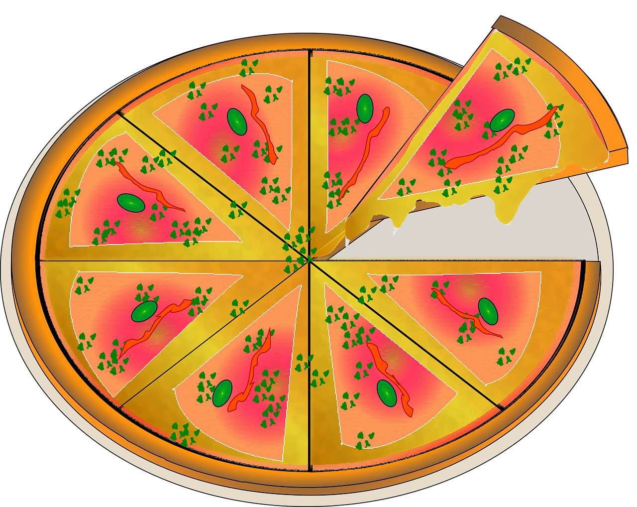 Friday st john s. Party clipart pizza party