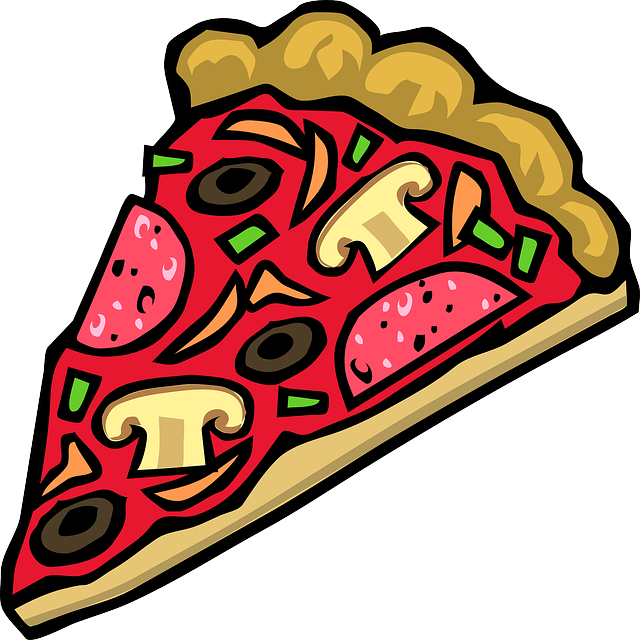 party clipart pizza party
