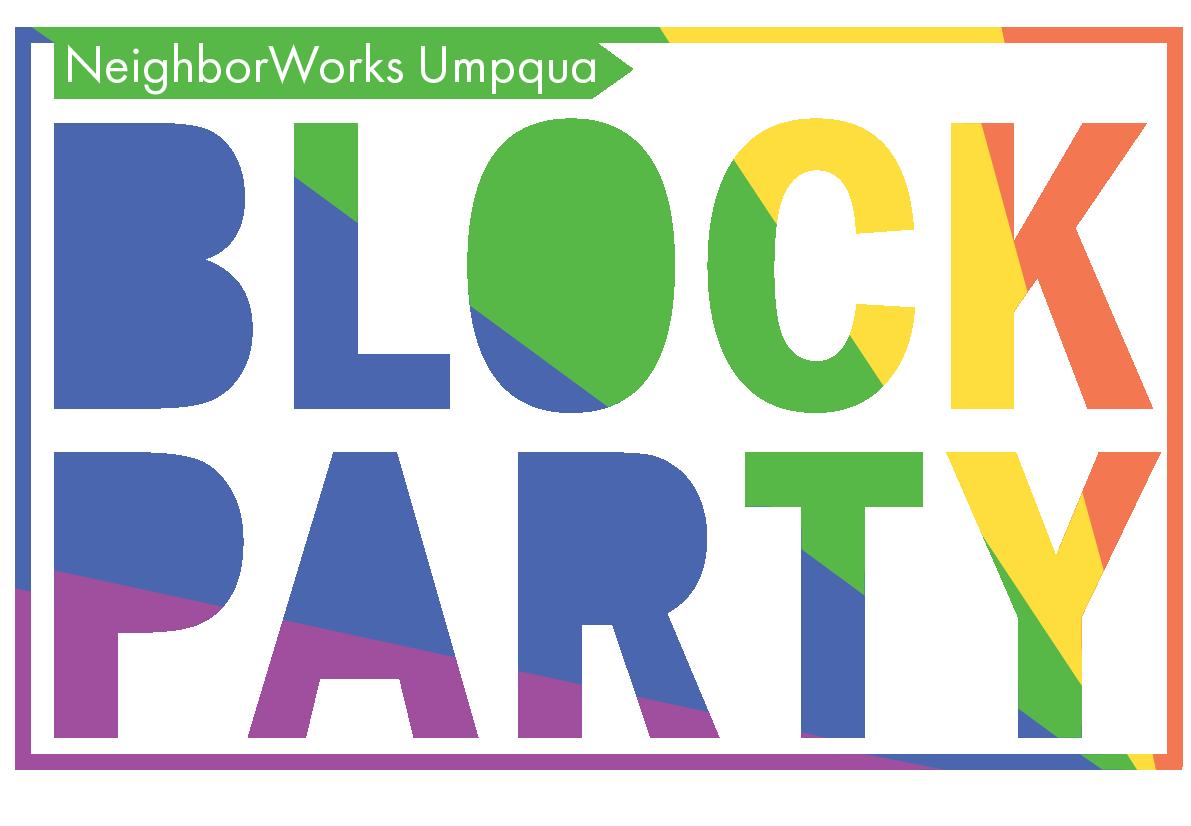 Party clipart street party. Neighborworks umpqua s block