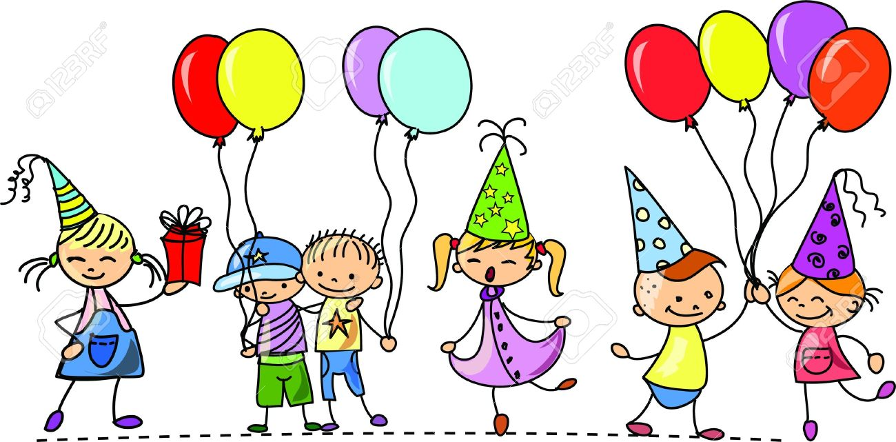 Party clipart. Birthday