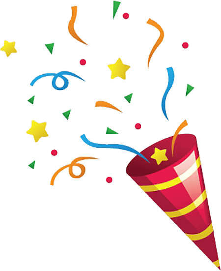 Party png images. Transparent stickpng confetti explosion