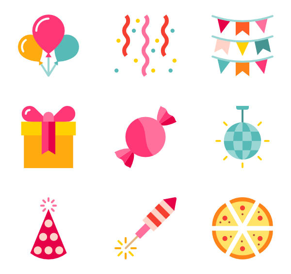 Birthday hd transparent. Party png images
