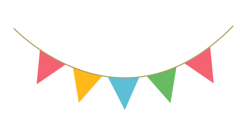Streamers clipart deco.  party png for