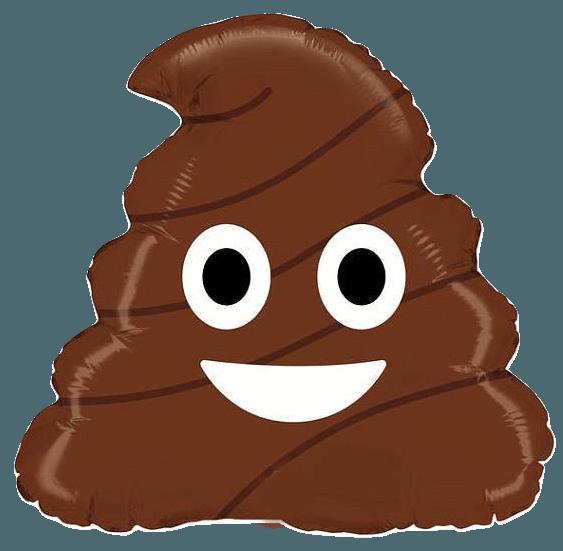 poop emoji foil. Passover clipart round