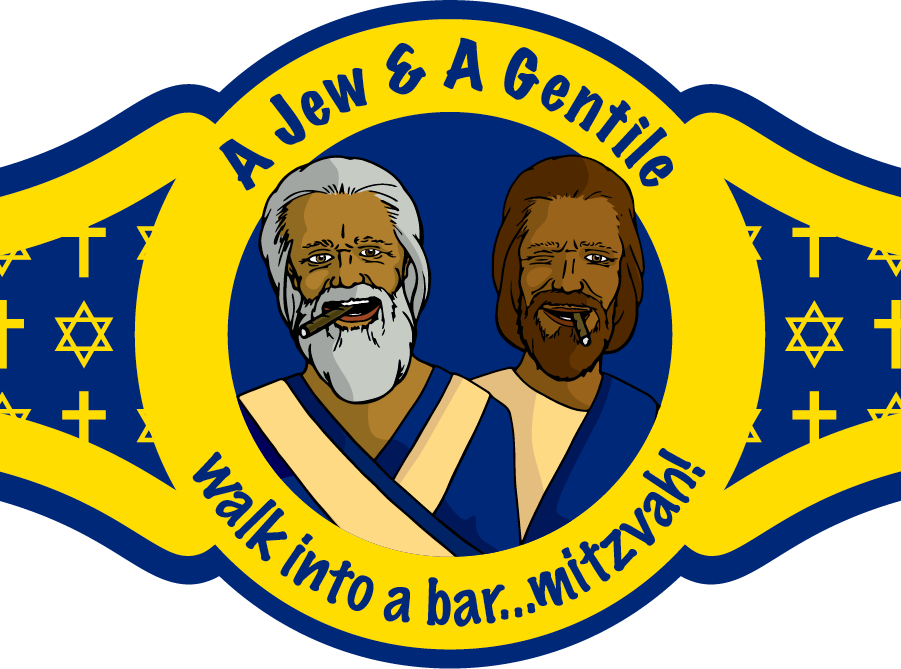 Passover clipart shank bone. A jew and gentile