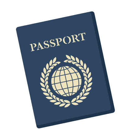 Panda free images . Passport clipart