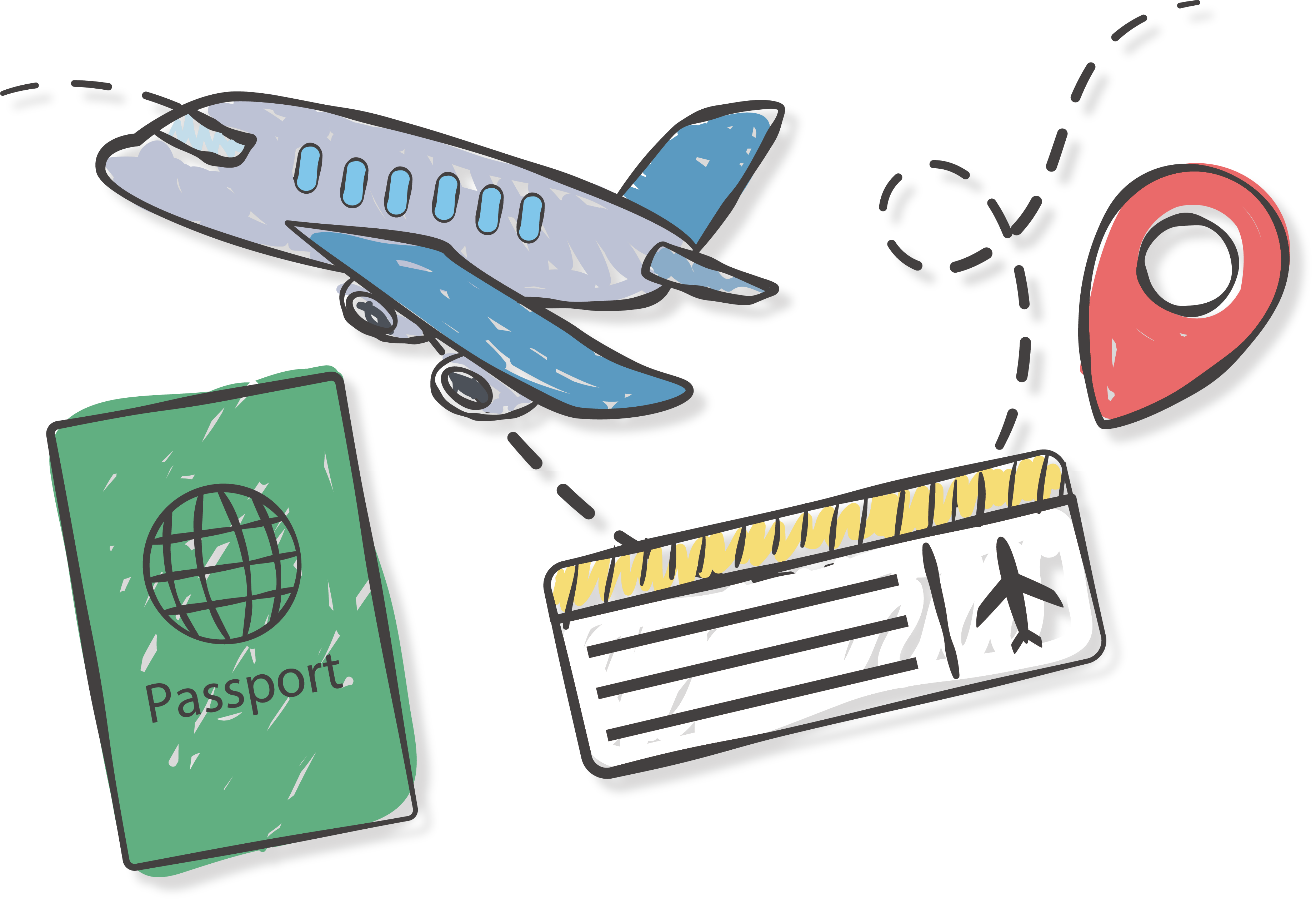 Ticket clipart plane ticket. Airplane airline travel icon