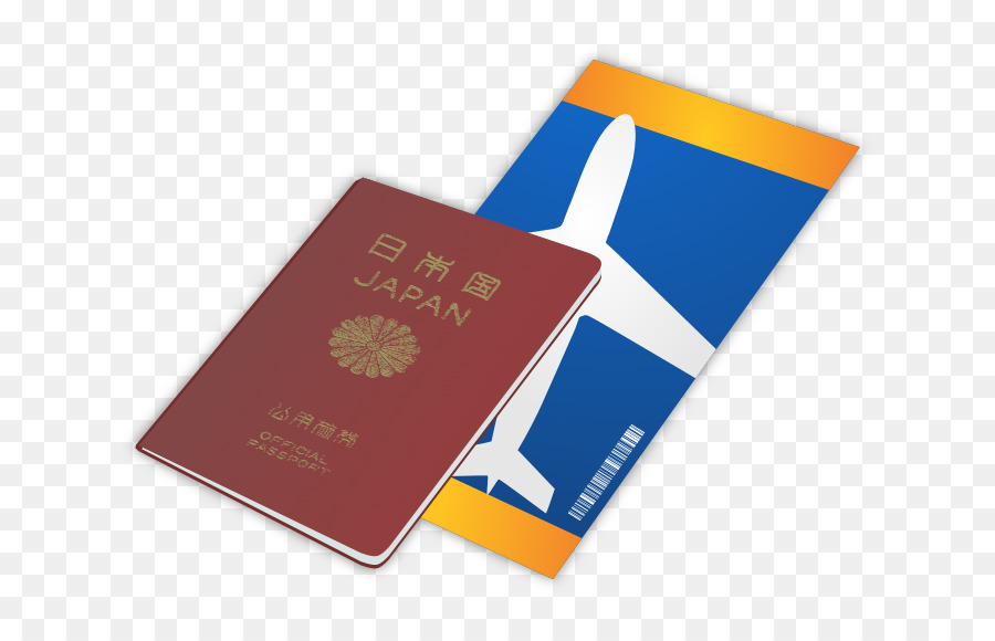 Travel airplane product . Passport clipart airline ticket