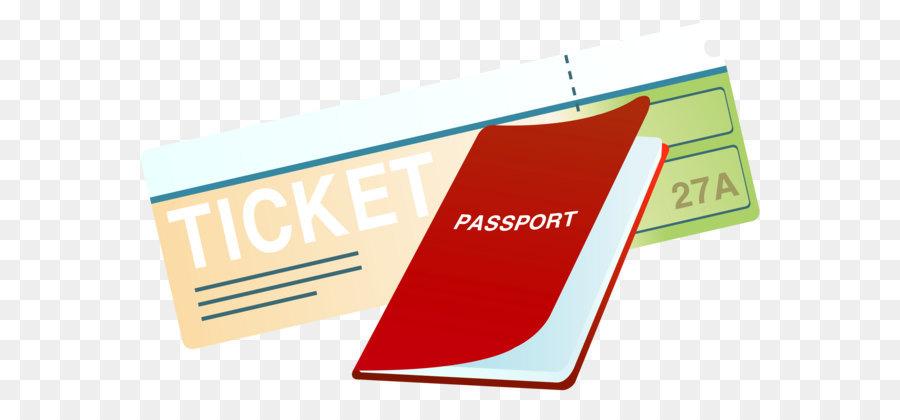 Passport clipart airline ticket. Travel design png download